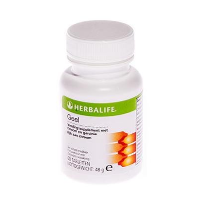 Herbalife Geel 60 tabletten
