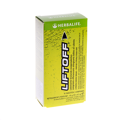 Herbalife Lift Off 10 tabletten citroen-limoensmaak