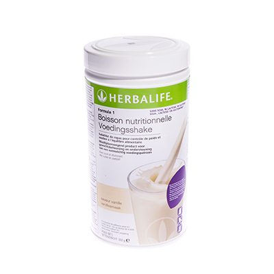 Herbalife Formule 1 voedingsshake soja-, lactose- en glutenvrij 550 gram vanillesmaak