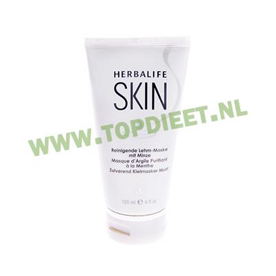 herbalife_topdieet_skin_zuiverend_kleimasker_munt