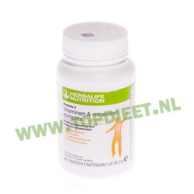 Herbalife Formula 2 Vitaminen- & Mineralencomplex 60 tabletten Mannen