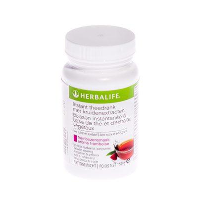 Herbalife Instant theedrank met kruidenextracten 50 gram frambozensmaak