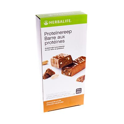 Herbalife Proteïnereep 14 repen chocolade-pinda