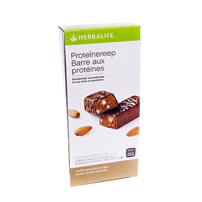 Herbalife Proteïnereep 14 repen vanille-amandel smaak