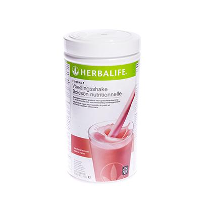 Herbalife Formule 1 voedingsshake 550 gram aardbeiensmaak