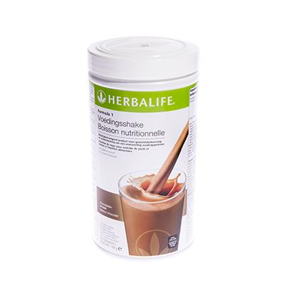 Herbalife Formule 1 voedingsshake 550 gram chocoladesmaak