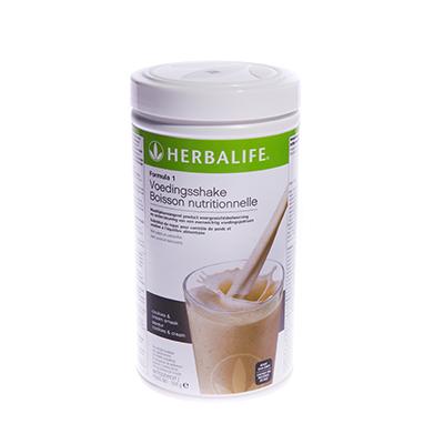 Herbalife Formule 1 voedingsshake 550 gram cookies & cream smaak