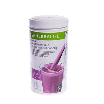 Herbalife Formule 1 voedingsshake 550 gram frambozen & blauwe bessensmaak