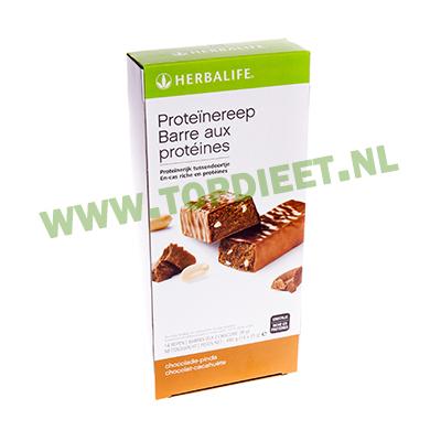 herbalife_topdieet_proteinereep_chocolade_pinda