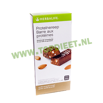 herbalife_topdieet_proteinereep_vanille_amandel