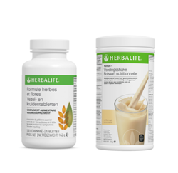 Herbalife basisprogramma vanille